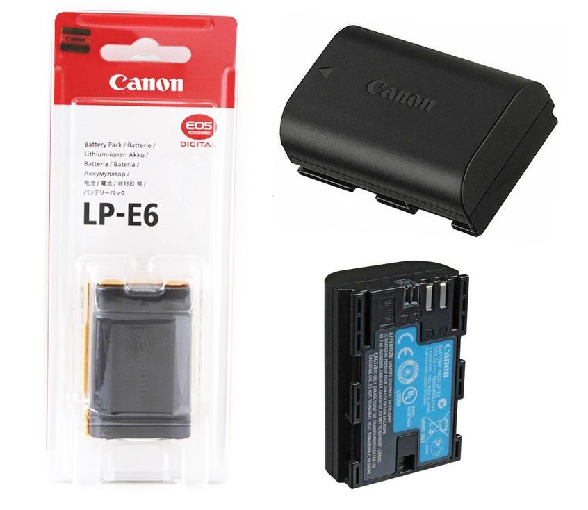 Battery Canon Lp E6 Original Retina Digicam Toko