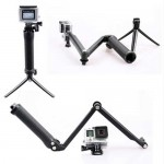 GoPro-3-way-Monopod-Multi-function-folding-arm-self-timer-Grip-Super-Portable-Magic-Mount-for