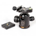 New-QZSD-Q02-Camera-Tripod-Ball-Head-Ballhead-with-Quick-Release-Plate-1-4-Screw-Max